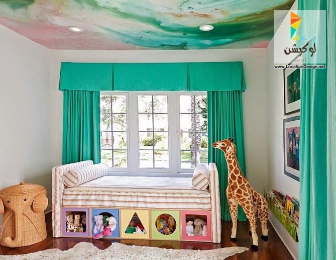 صورة افكار غرف نوم اطفال منوعة 2020 , فكرة غرفة طفل للنوم انيقة 2020 7868 4