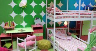 افكار غرف نوم اطفال منوعة 2020 , فكرة غرفة طفل للنوم انيقة 2020