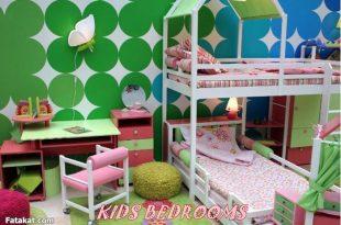 صوره افكار غرف نوم اطفال منوعة 2017 , فكرة غرفة طفل للنوم انيقة 2017