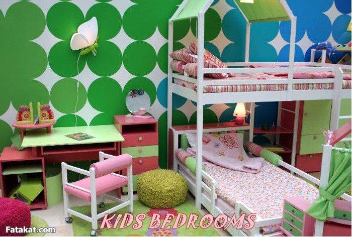 صورة افكار غرف نوم اطفال منوعة 2020 , فكرة غرفة طفل للنوم انيقة 2020 7868
