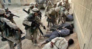 الحرب على العراق , الغزو على العراق