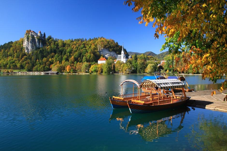 صورة مدينة بليد في سلوفينيا , لوحات فنية من الطبيعة