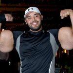 صاحب اكبر عضلات في العالم , صور المصري مصطفي اسماعيل