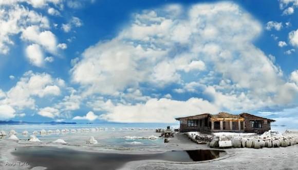 صوره صدق او لا تصدق , صور فندق مصنوع بالكامل من الملح