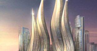 صور برج دبي المتحرك , صور ناطحات سحاب متحركة