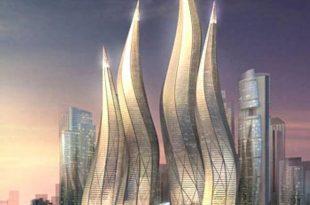 صورة برج دبي المتحرك , صور ناطحات سحاب متحركة