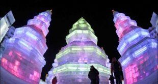 الثلج في الصين , صور مهرجان الجليد الرائع