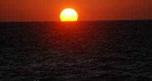 مناظر غروب الشمس , مناظر طبيعية خطيرة