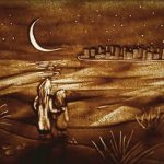 فن الرسم على الرمل , صور الابداع والابتكار الفني