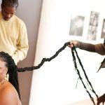 اطول شعر بالعالم , امراة امريكية ذات الشعر الغزير
