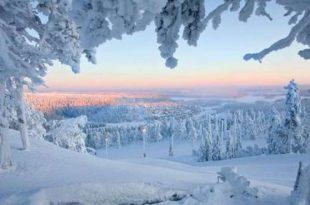 صوره من اجمل صور العالم ,  السياحة في مدينة الثلوج في اليابان