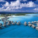 جزيرة بورا بورا , احضان الطبيعة الخلابة