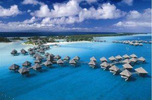 صورة جزيرة بورا بورا , احضان الطبيعة الخلابة