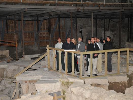 صورة تحت المسجد الاقصى , المؤامرة الصهيونية الكبري