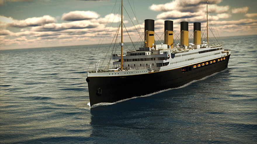 صورة صور سفينة تيتانيك , تحطيم اكبر اسطورة