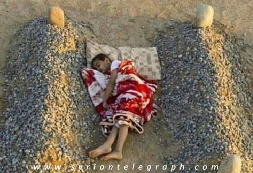 صورة الصورة التي ابكت العالم , ليس لها علاقة بسوريا