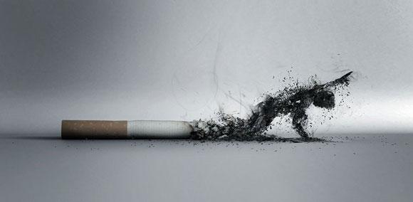 صور صور معبرة عن التدخين , تصميمات رائعة تحذر من خطر السيجارة