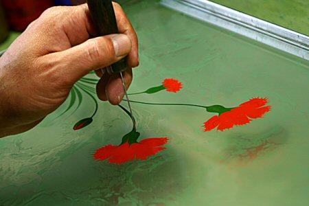 صورة فن الرسم بالماء , صور مذهلة رائعة ومتقنة