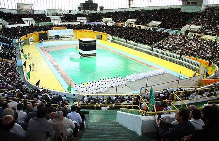 صور كعبة في ايران , صور للخلاف الديني بين الشيعة والسعودية