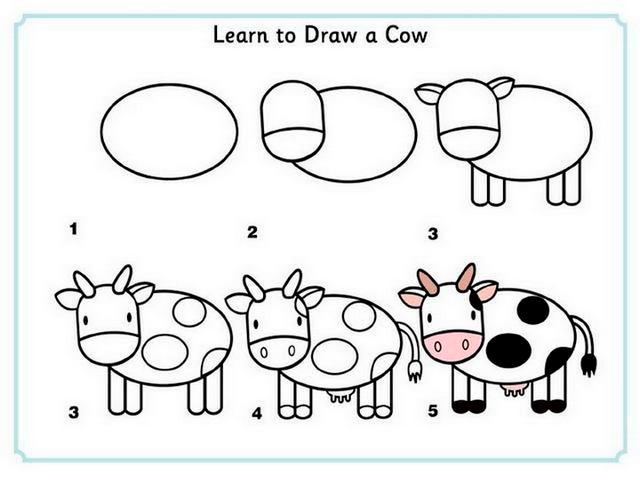 صور تعليم الرسم للمبتدئين , خطوة بخطوة كيفية الرسم