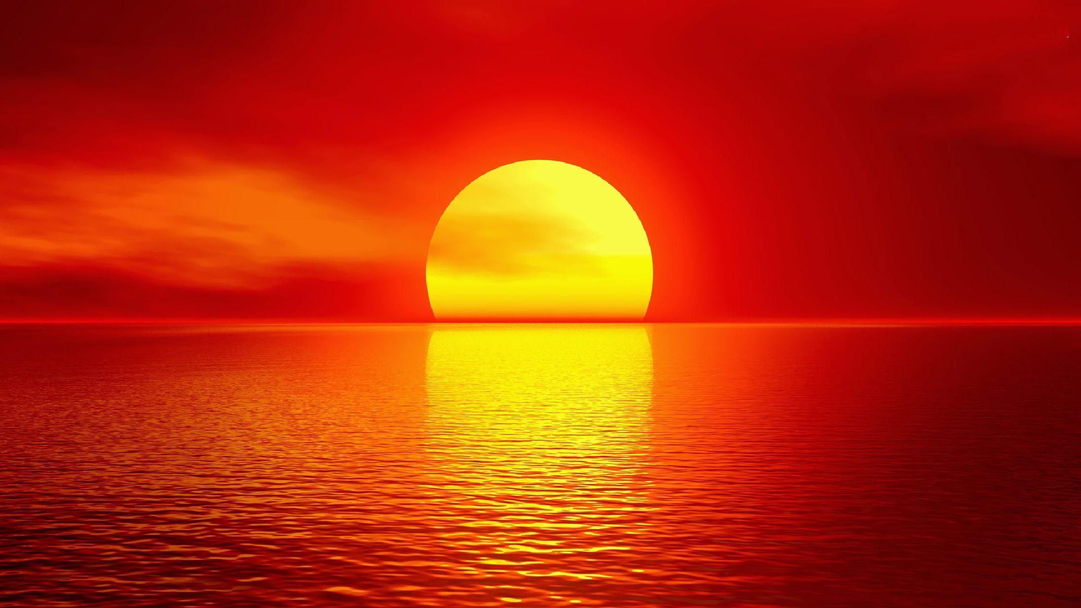 صوره صور غروب الشمس , صوره لا اكثر منظر طبيعي جدا
