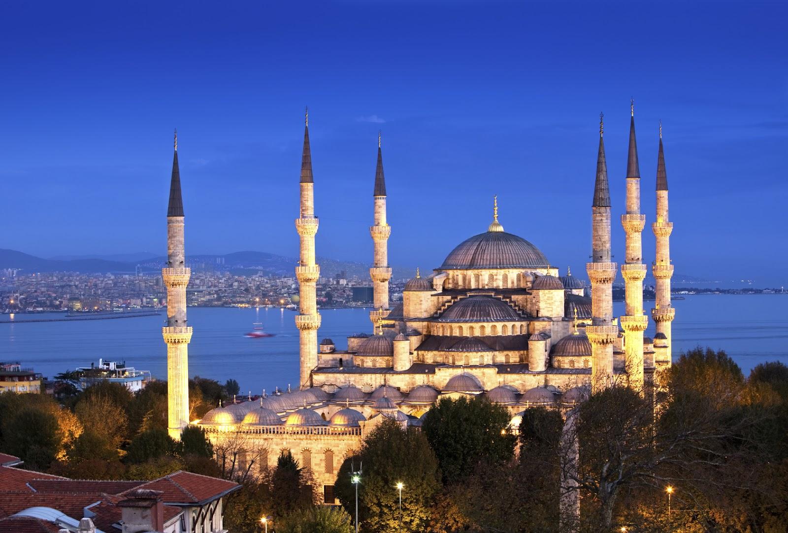 صورة المسجد الازرق تركيا , افضل صور في اسطنبول