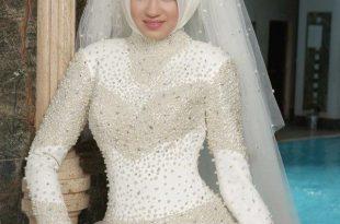 صوره احدث تصاميم لفساتين الزفاف , اجمل ماتم تصميمه عالميا للزواج