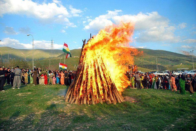 صورة صور عيد نوروز , الاحتفال بعيد الربيع