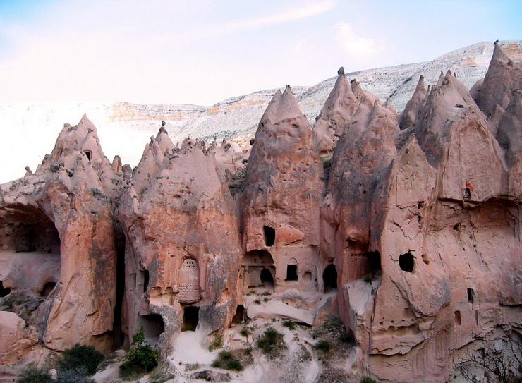 صوره مدينة الجن تحت الارض في تركيا , من الاثار المشهوره في بالاناضول
