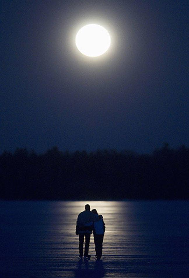 صوره اجمل الصور الرومانسية للقمر , القمر في اجمل صوره