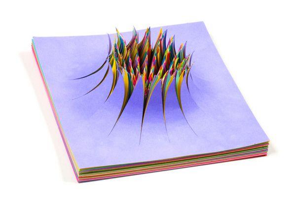 صوره فن الاوراق الملونه , صور واشكال مختلفة متقنة من الورق