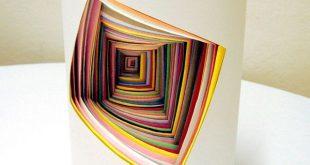 فن الاوراق الملونه , صور واشكال مختلفة متقنة من الورق