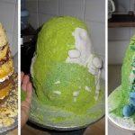 صور كيكة غريبه , اشكال مختلفة لطهاة مبدعين