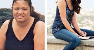 قبل و بعد , السمنة وصور تدل علي عزيمة قوية