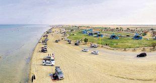 صورة شاطئ العقير السياحي , مناظر غاية في الروعة والجمال