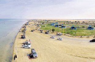 صوره شاطئ العقير السياحي , مناظر غاية في الروعة والجمال