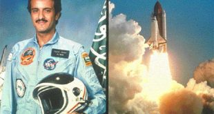 رحلة الى الفضاء , صور رائعة لاول رائد فضاء عربي