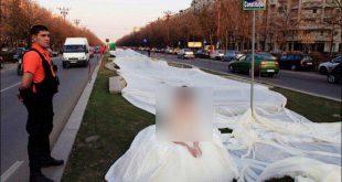 اطول فستان في العالم , صور رائعة لفستان العرس دخل موسعة جبنيس