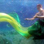 عرض ازياء تحت الماء , صور الفتيات الكوريات في عروض الازياء
