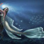 صور لحورية البحر , مناظر بين الواقع والخيال