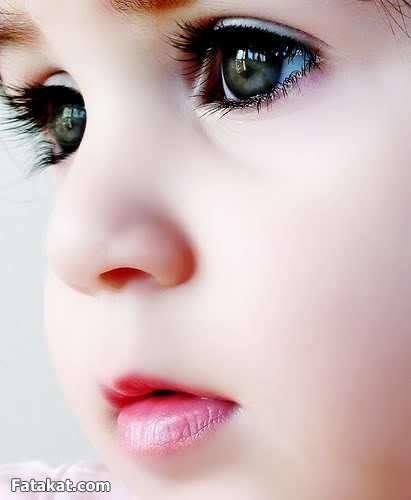 صورة اجمل عيون طفلة في العالم , نظارات بريئة ساحرة جذابة