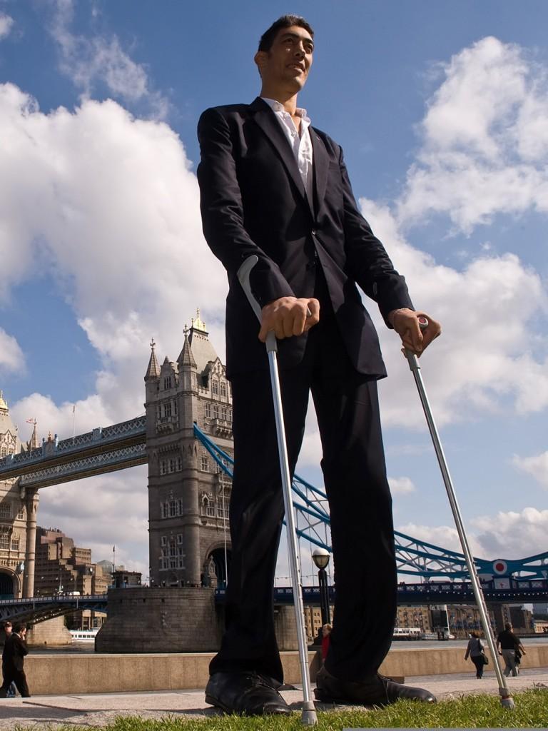 بالصور اطول رجل في العالم , اطول رجل في العالم يتزوج من سورية ويصفها بانها حب حياته 3097 4