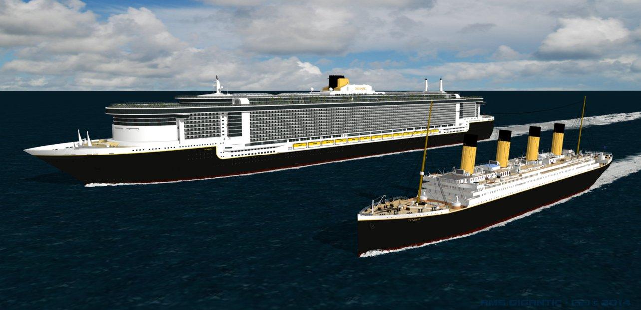 صوره سفينة تايتنك الجديدة     ,   بالصور  حلم تايتنك الحديثه تعود للابحار قريبا