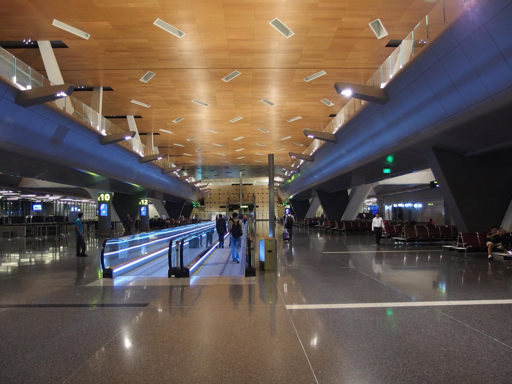 صورة مطار الدوحة الدولي الجديد , احلى واجمل صور للمطار الدولي