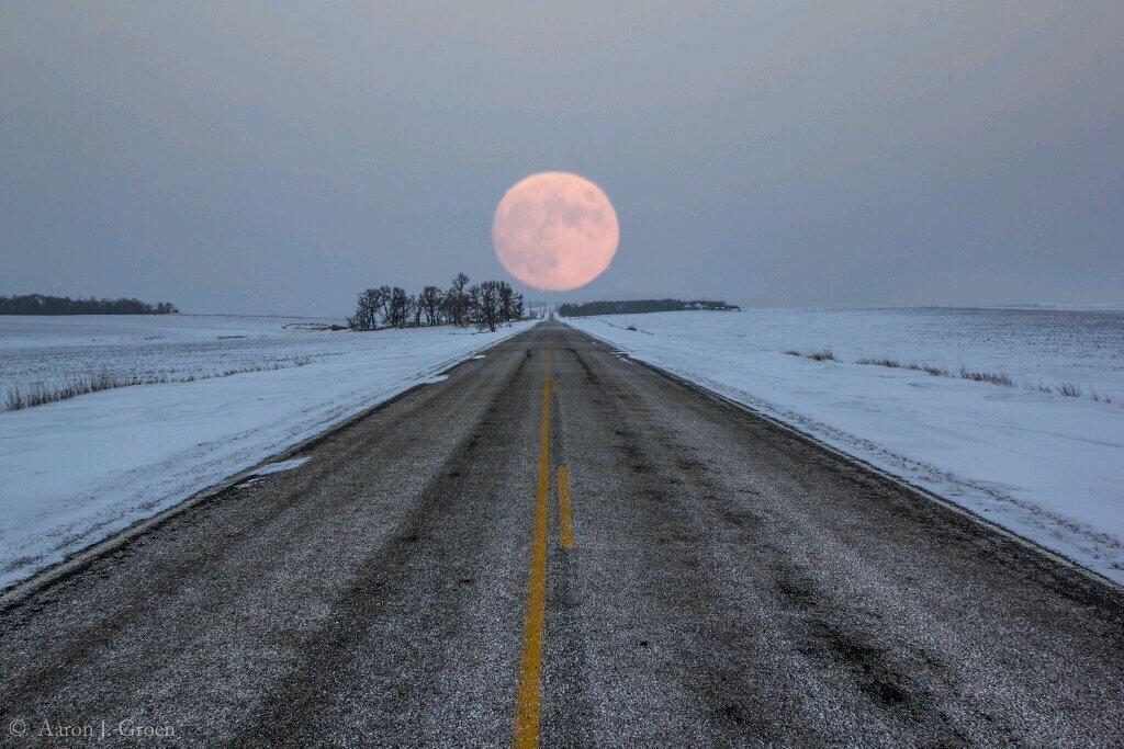 صور الطريق الى القمر , اجدد واجمل صور الليل وضي القمر