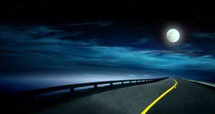 صوره الطريق الى القمر , اجدد واجمل صور الليل وضي القمر