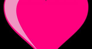 صور قلوب وردية , اجمل بوست تهدي لحبيب قلبك الغالي