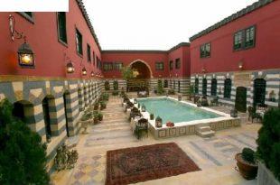 صوره فندق باب الحارة , صور مختلفة لفندق تليسمان في دمشق