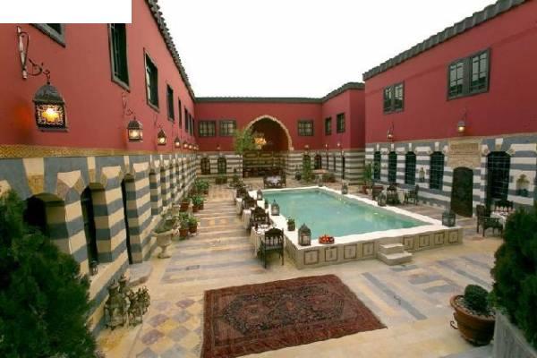 فندق باب الحارة , صور مختلفة لفندق تليسمان في دمشق