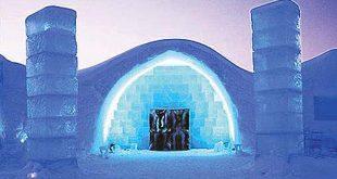 فندق من الثلج , تجربة فريدة وغريبة